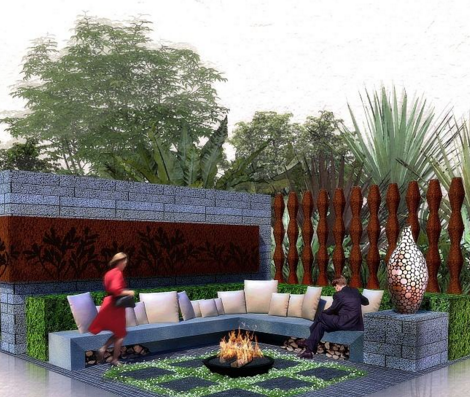 <span>庭院景觀設計</span>