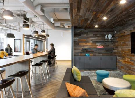 北京装修公司介绍为什么办公室装修色调要统一